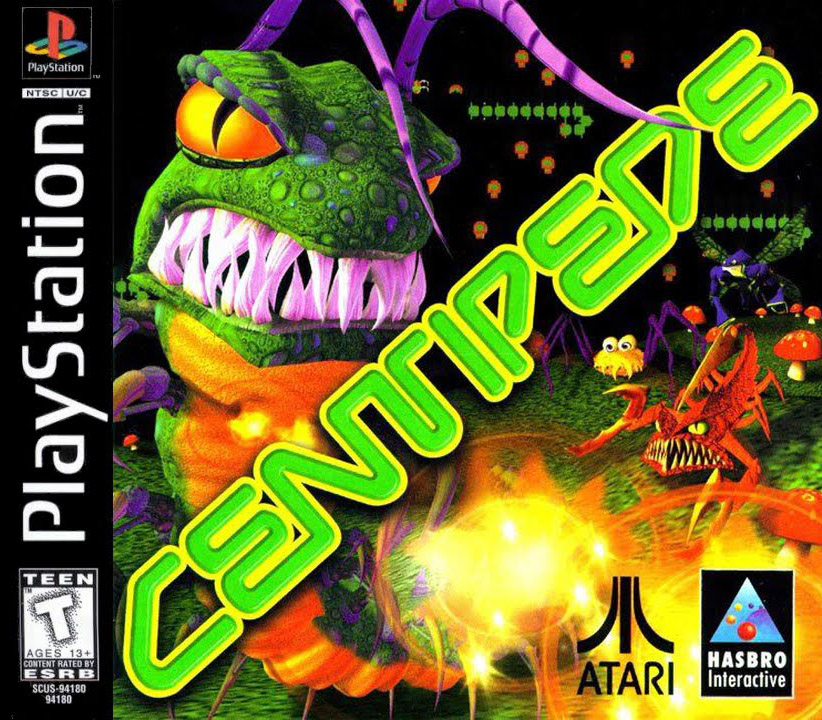 Centipede For Playstation 1 Ps1
