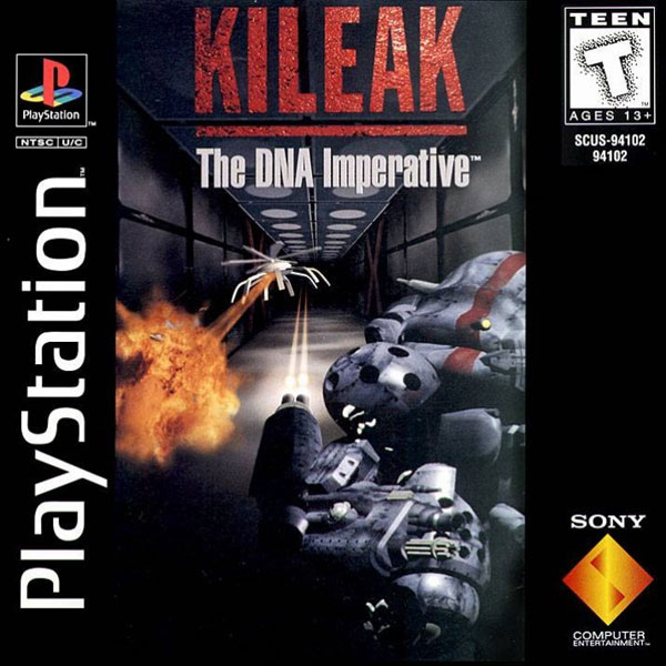 Kileak The DNA Imperative PlayStation For PlayStation 1 PS1