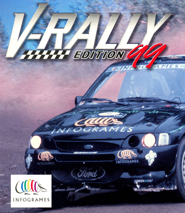 V-Rally Edition '99 Game Boy Color On Gameboy Color Racing