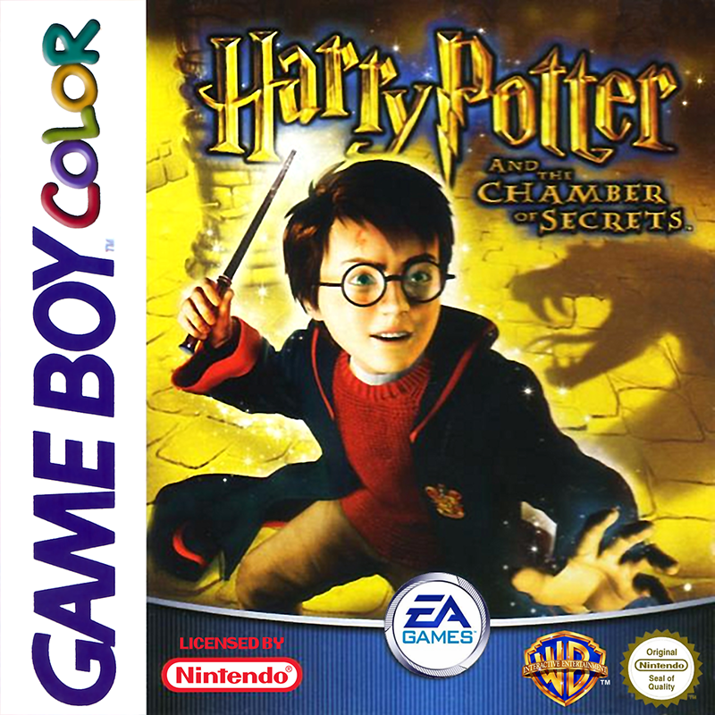 Harry Potter And The Chamber Of Secrets On Gameboy Color