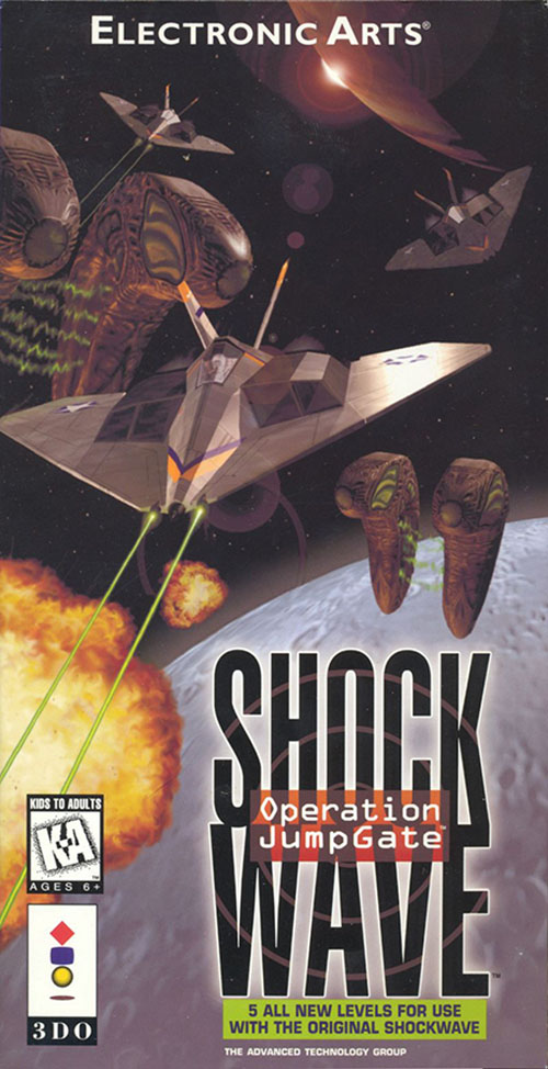 Shock Wave Operation Jumpgate Video Game For 3DO Vintage With Manual And Case