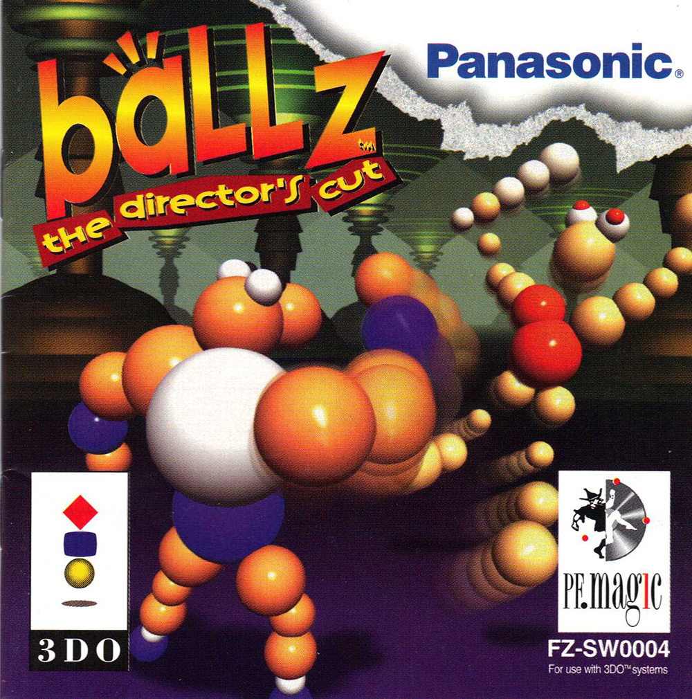 Ballz: The Director's Cut For 3DO Vintage Fighting  With Manual and Case