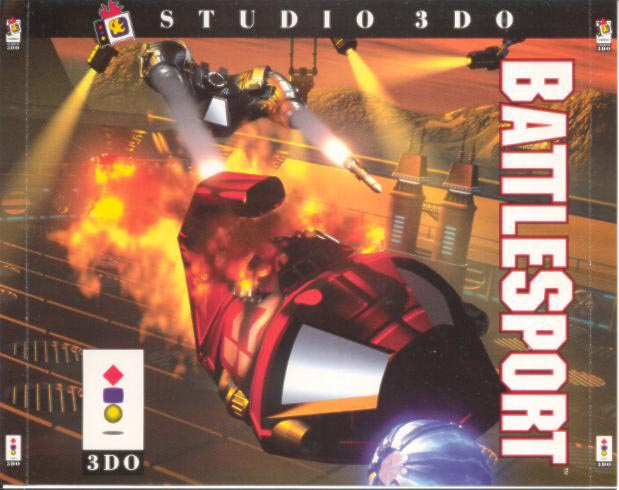 Battle Sport For 3DO Vintage With Manual and Case