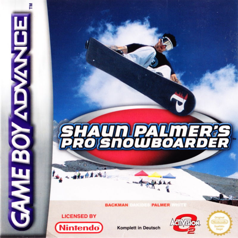 Shaun Palmer's Pro Snowboarder For Game Boy Advance For GBA Gameboy