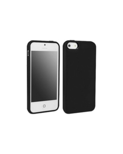 Black Tpu Shell Case For Apple iPhone 5 5S SE Cover Fitted