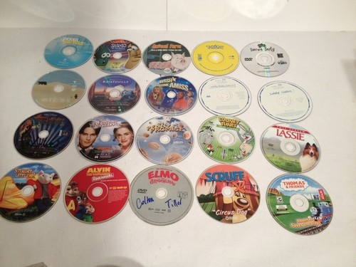 Random Lot Of Five 5X DVD Movies