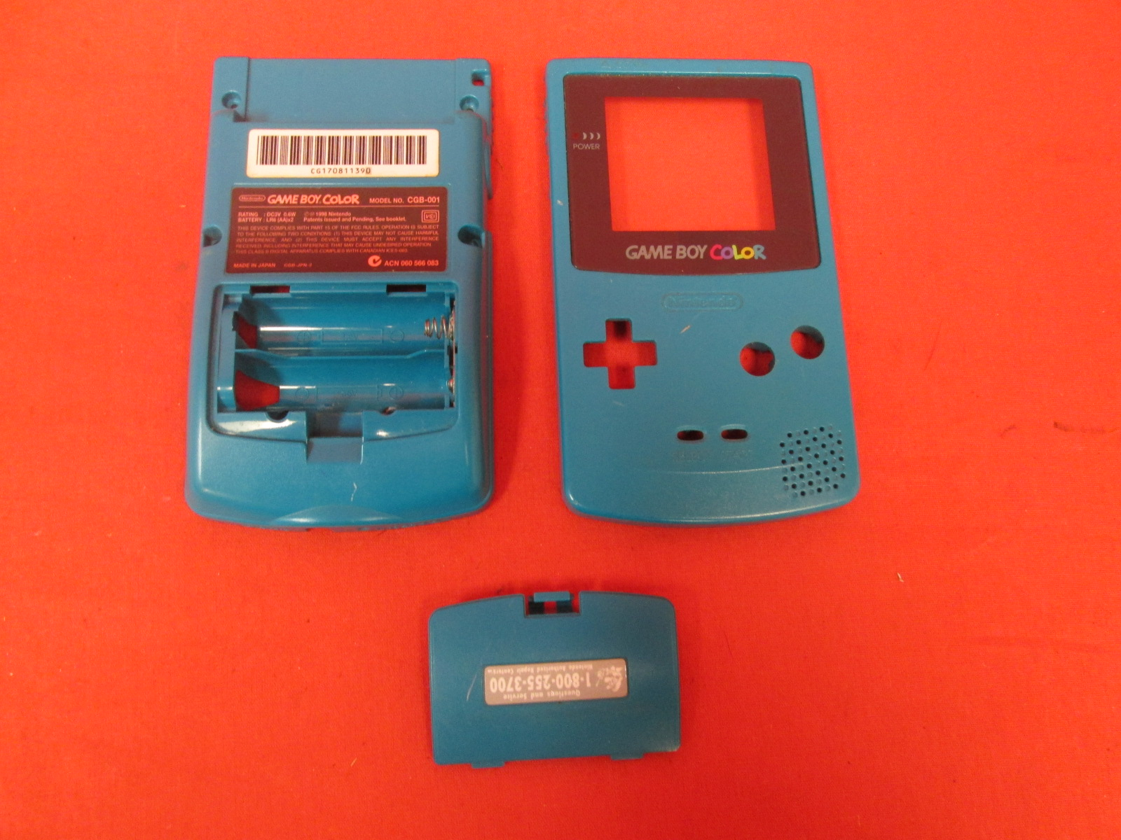 Replacement Case Housing For Game Boy Color Teal