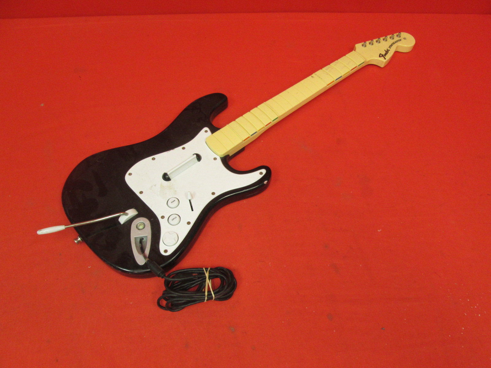 Image 0 of Official Rock Band 1 Wired Fender Stratocaster Guitar Controller For