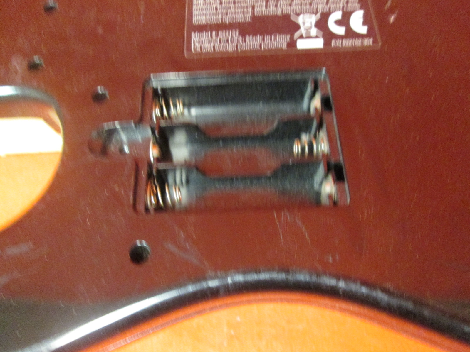 Image 1 of Official Rock Band 1 Wired Fender Stratocaster Guitar Controller For