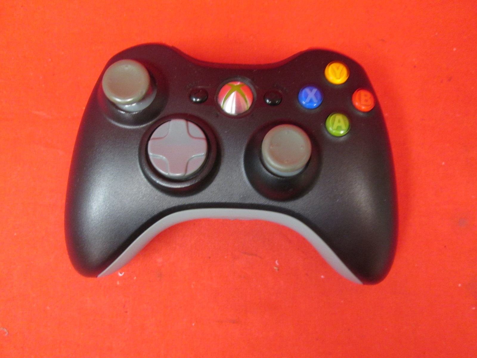 Image 0 of Microsoft Xbox 360 Wireless Controller Black Modded Rapid Fire