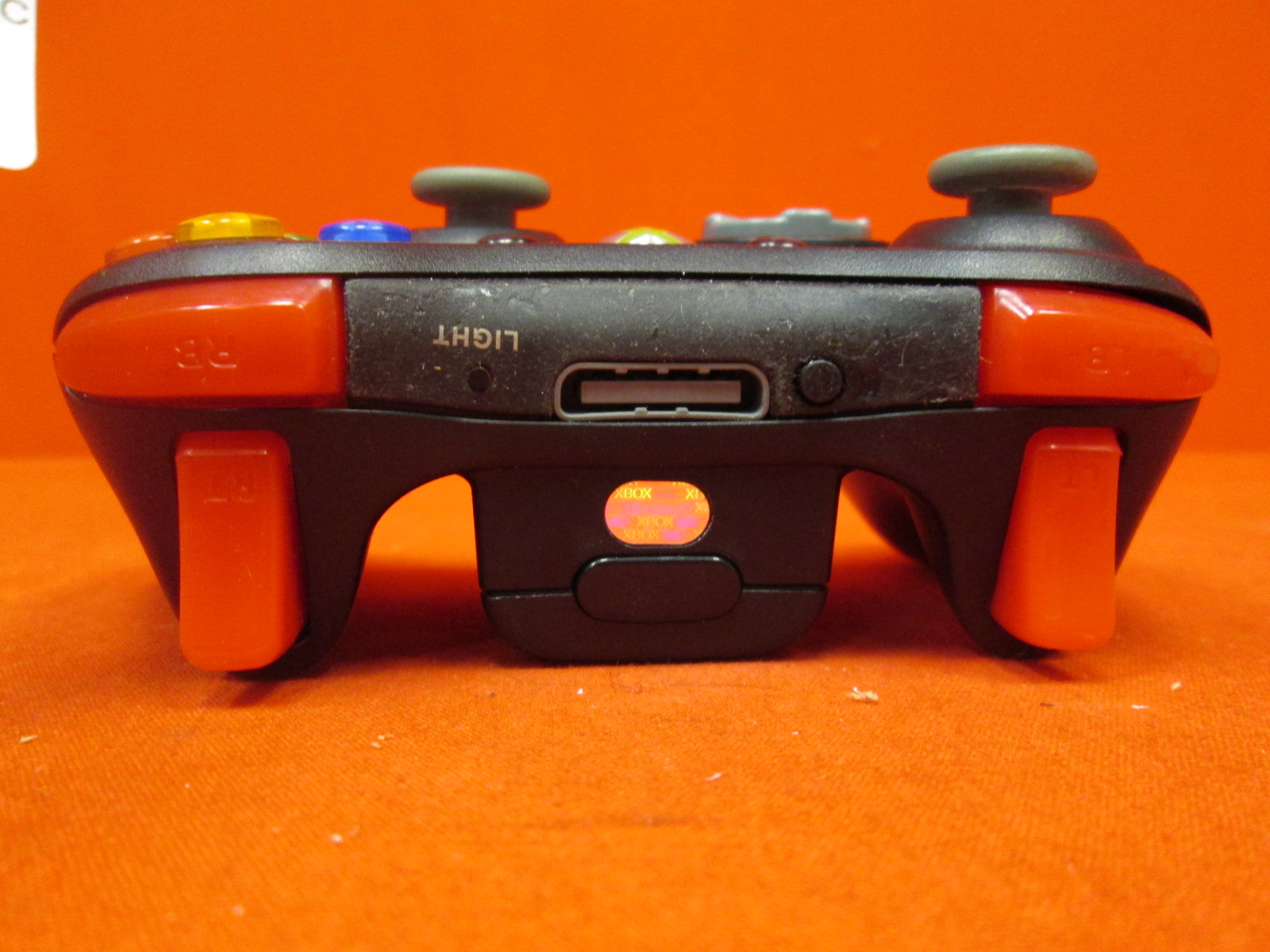 Image 1 of Microsoft Xbox 360 Wireless Controller Black Modded Rapid Fire
