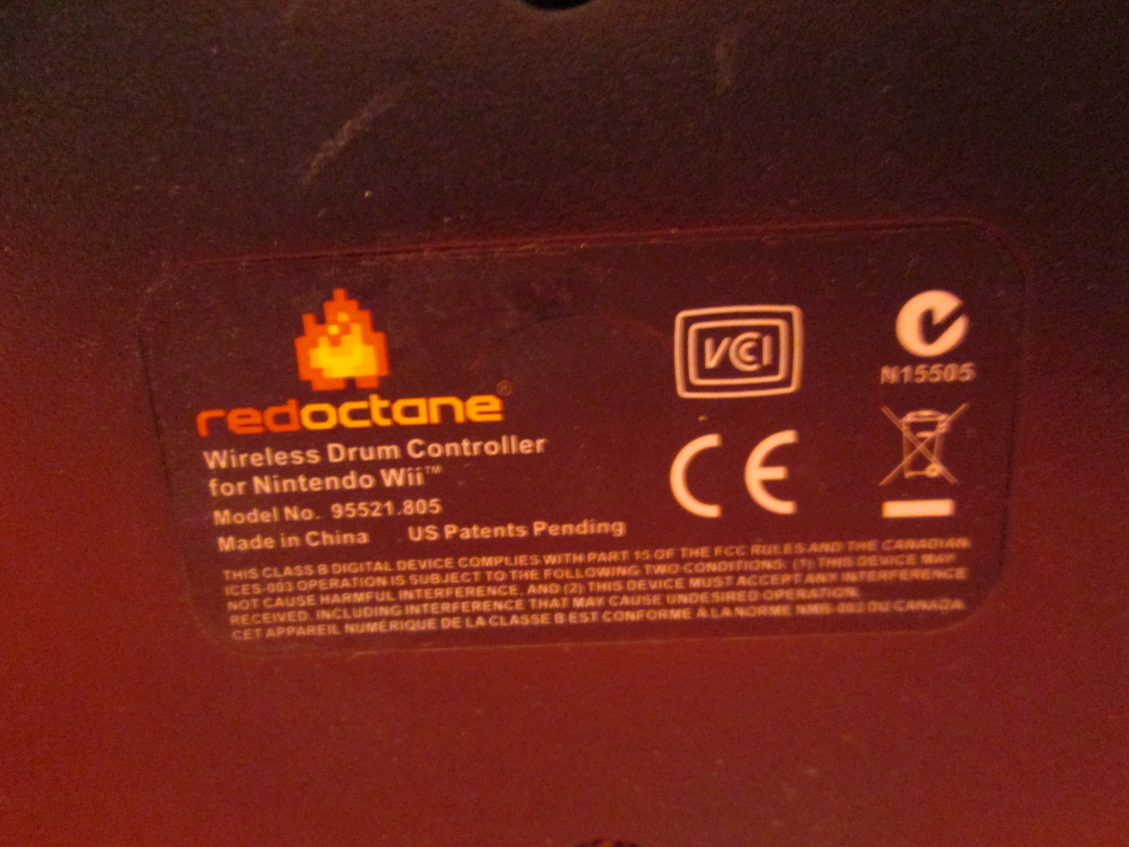 Image 2 of Redoctane Standalone Drum Kit For Wii