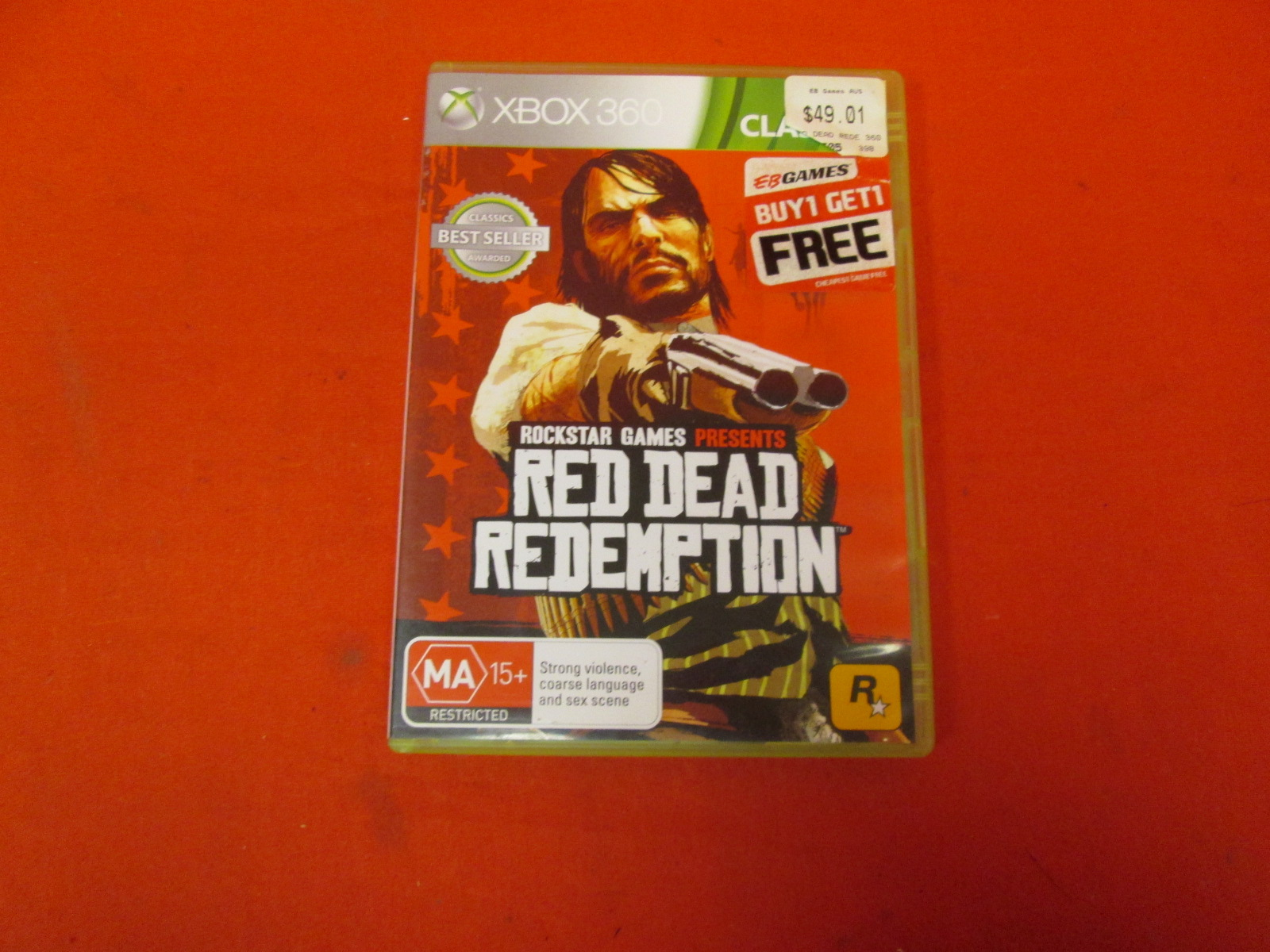 Red Dead Redemption PAL Version For Xbox 360