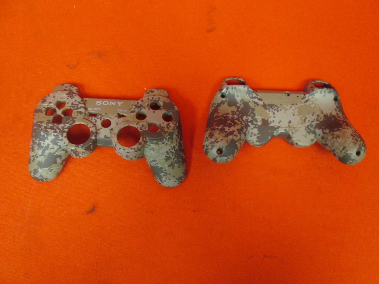 Replacement Camouflage Housing Casing For PS3 PlayStation 3 Dualshock