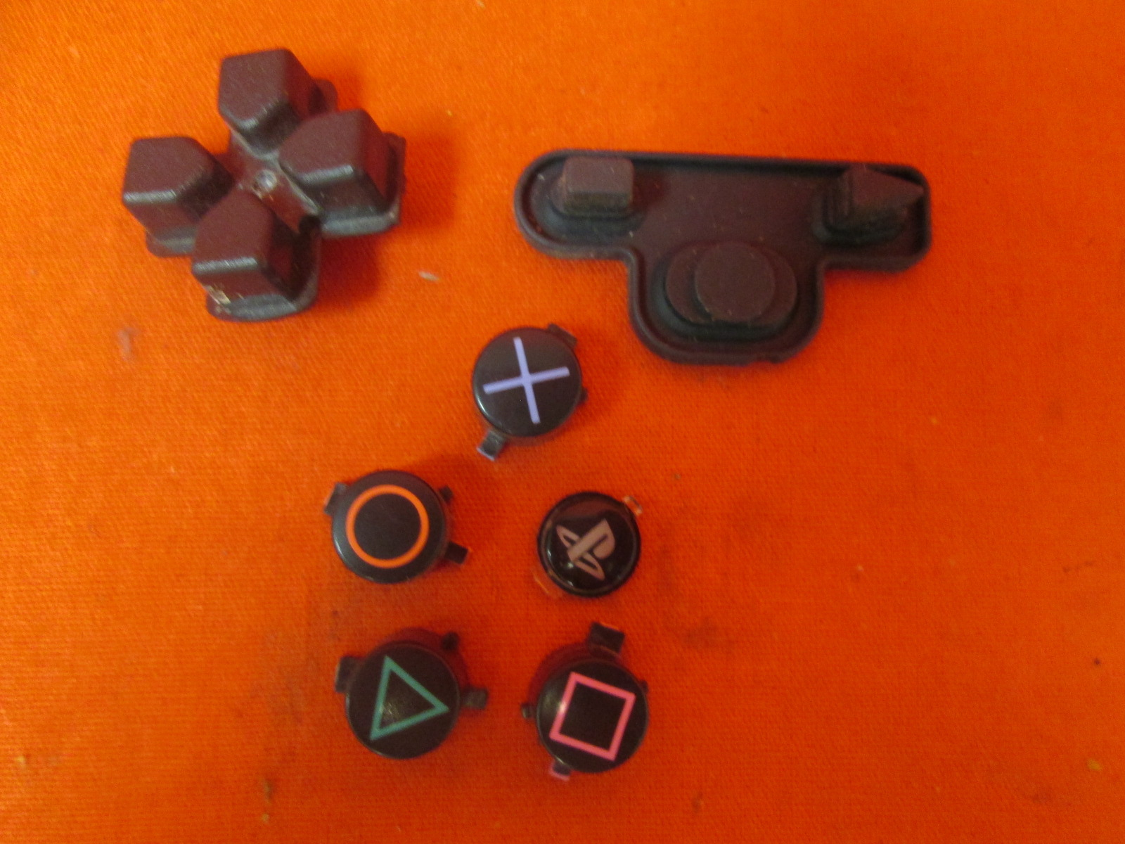 Replacement Button Set For PlayStation 3 PS3 Dualshock 3 Controller