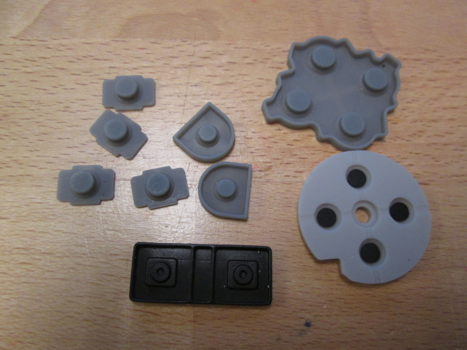Replacement Nintendo OEM Conductive Silicone Pads For Wii U Pro