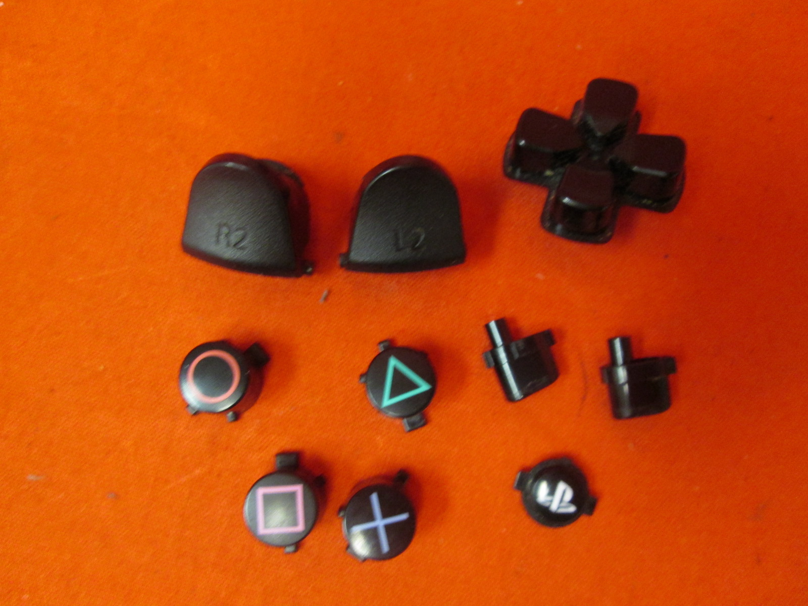 Sony OEM Replacement Buttons For PlayStation 4 Controller