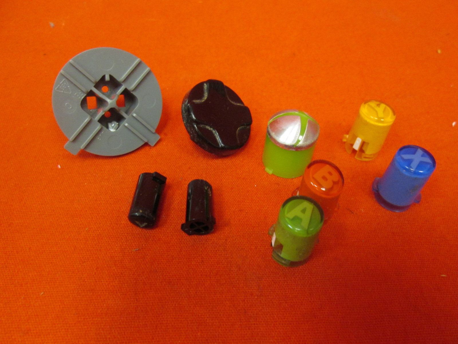 Replacement Microsoft OEM Button Set For Xbox 360 Wireless Controller