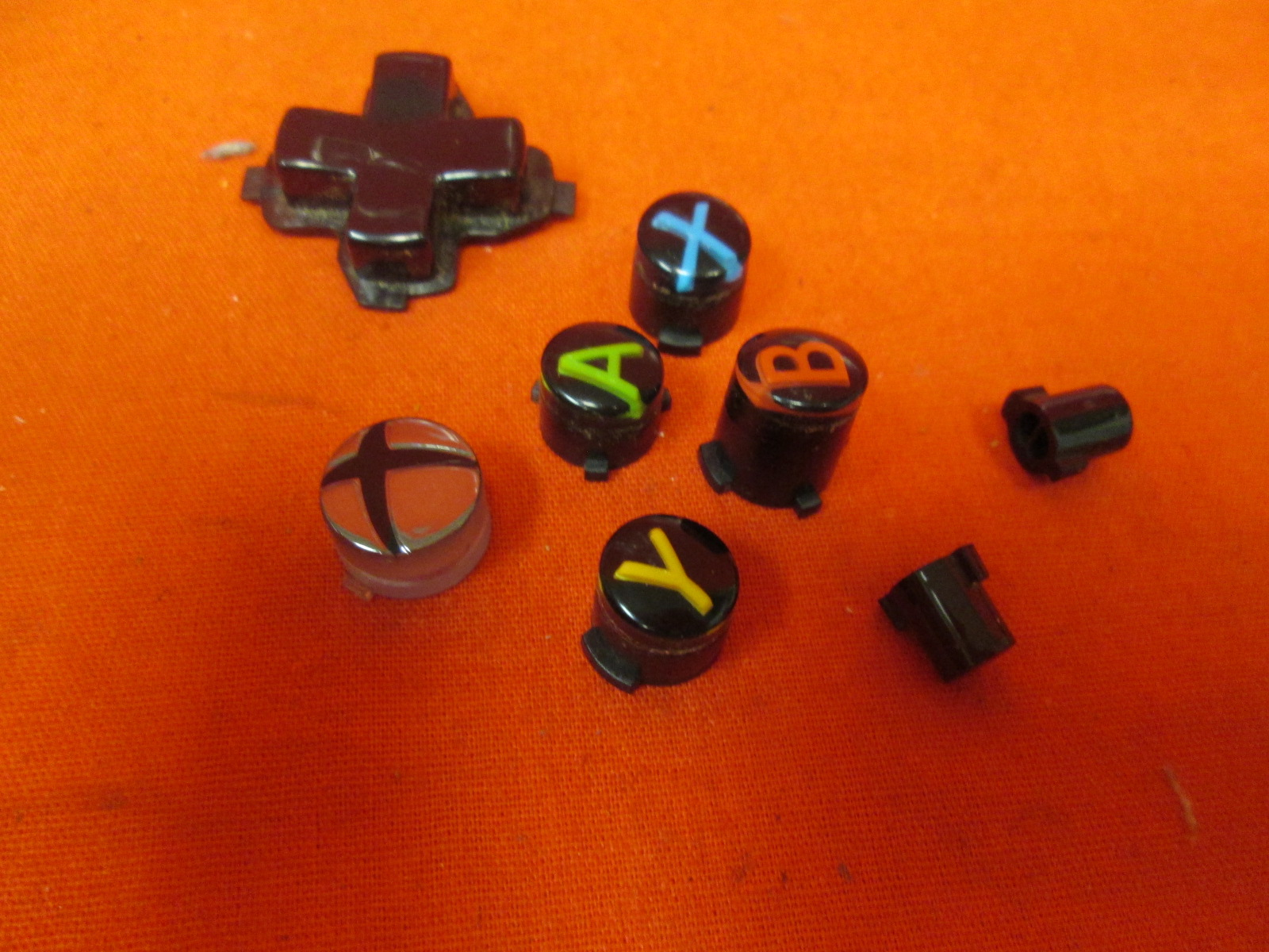 Replacement Microsoft OEM Button Set For Xbox One Controller