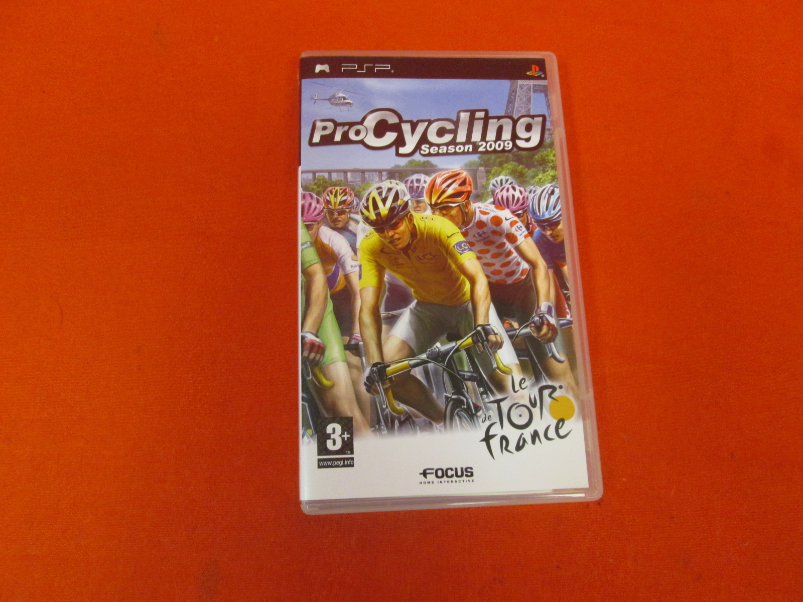 Pro Cycling Manager: Season 2009 For PSP PAL Version