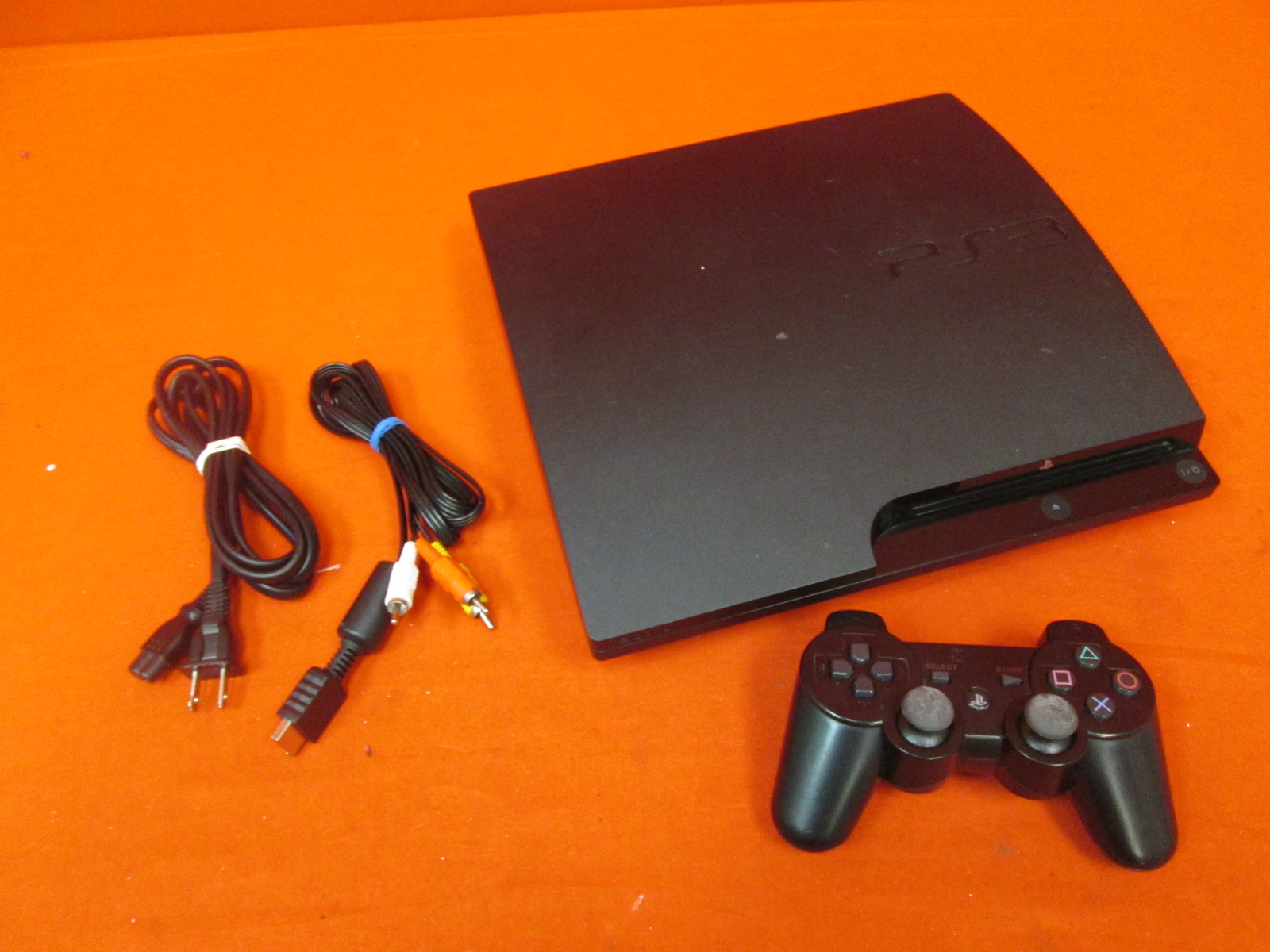 Image 0 of Sony PlayStation 3 Slim 120GB Video Game Console With Controller