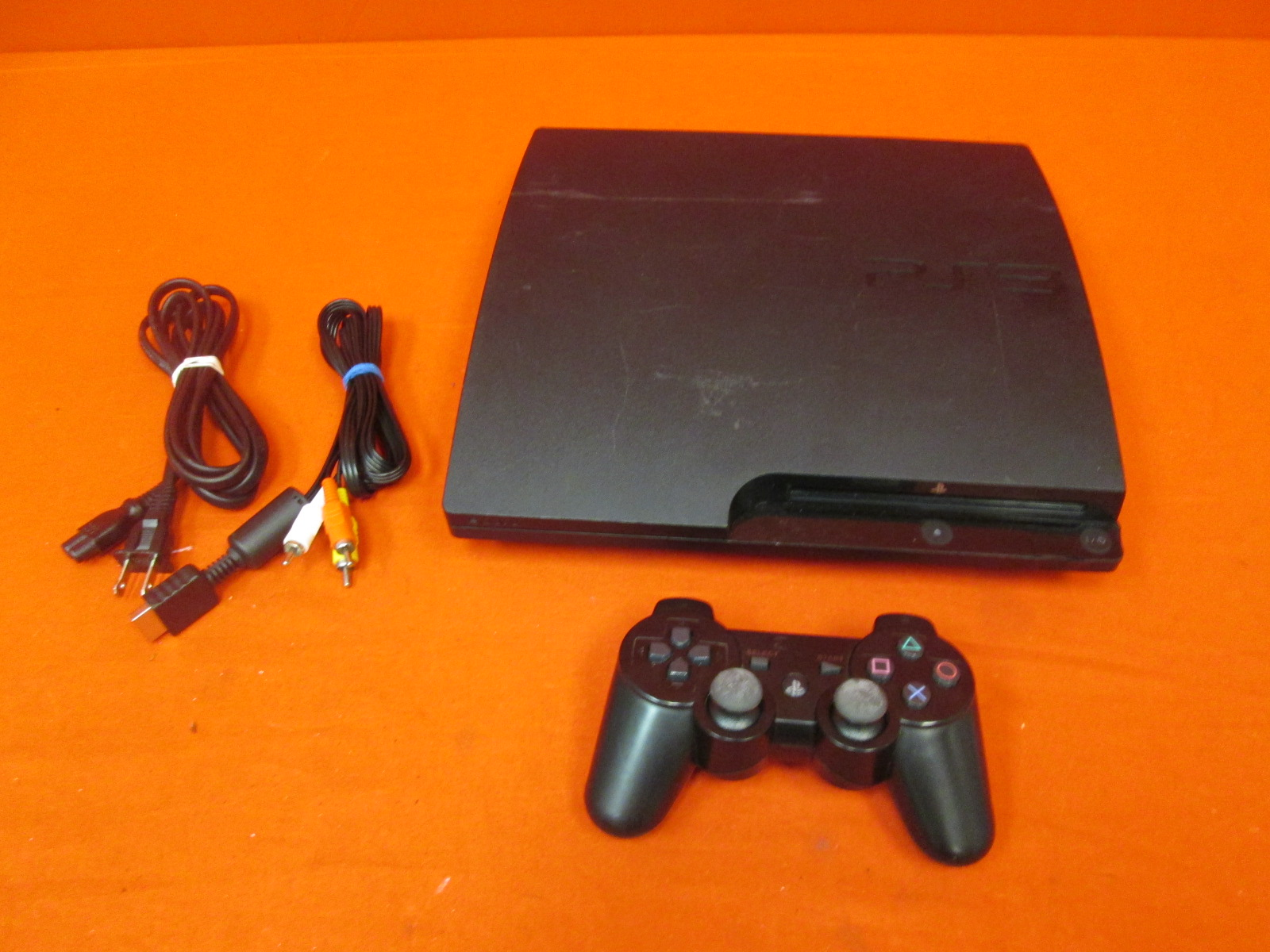 Image 0 of Sony PlayStation 3 Slim 160GB Video Game System With Controller