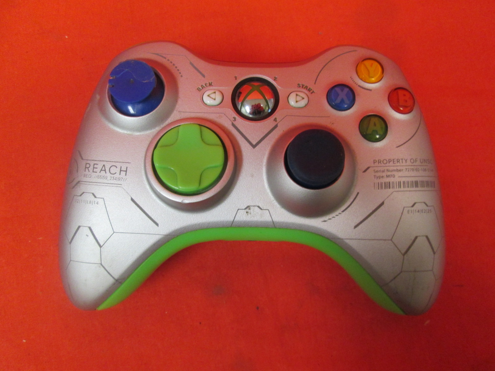 Image 0 of Halo Reach Wireless Controller For Xbox 360