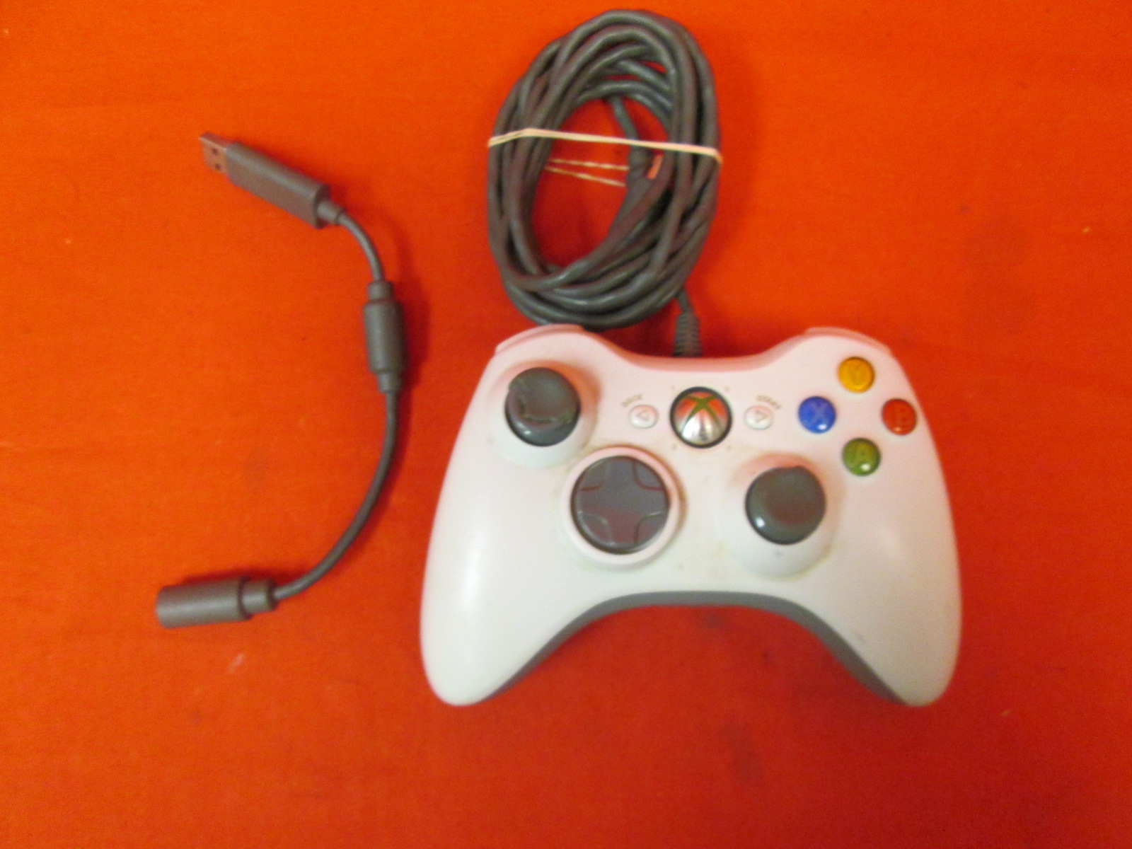 Image 0 of Microsoft OEM Xbox 360 Wired Controller White