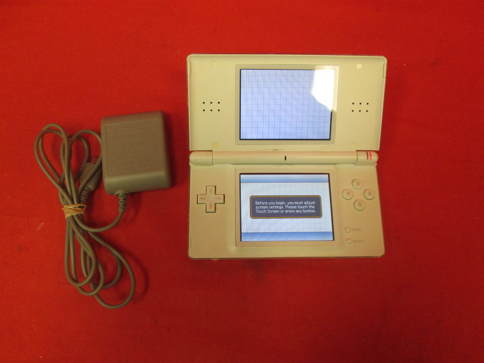 Image 0 of Nintendo DS Lite Polar White Handheld Video Game Console