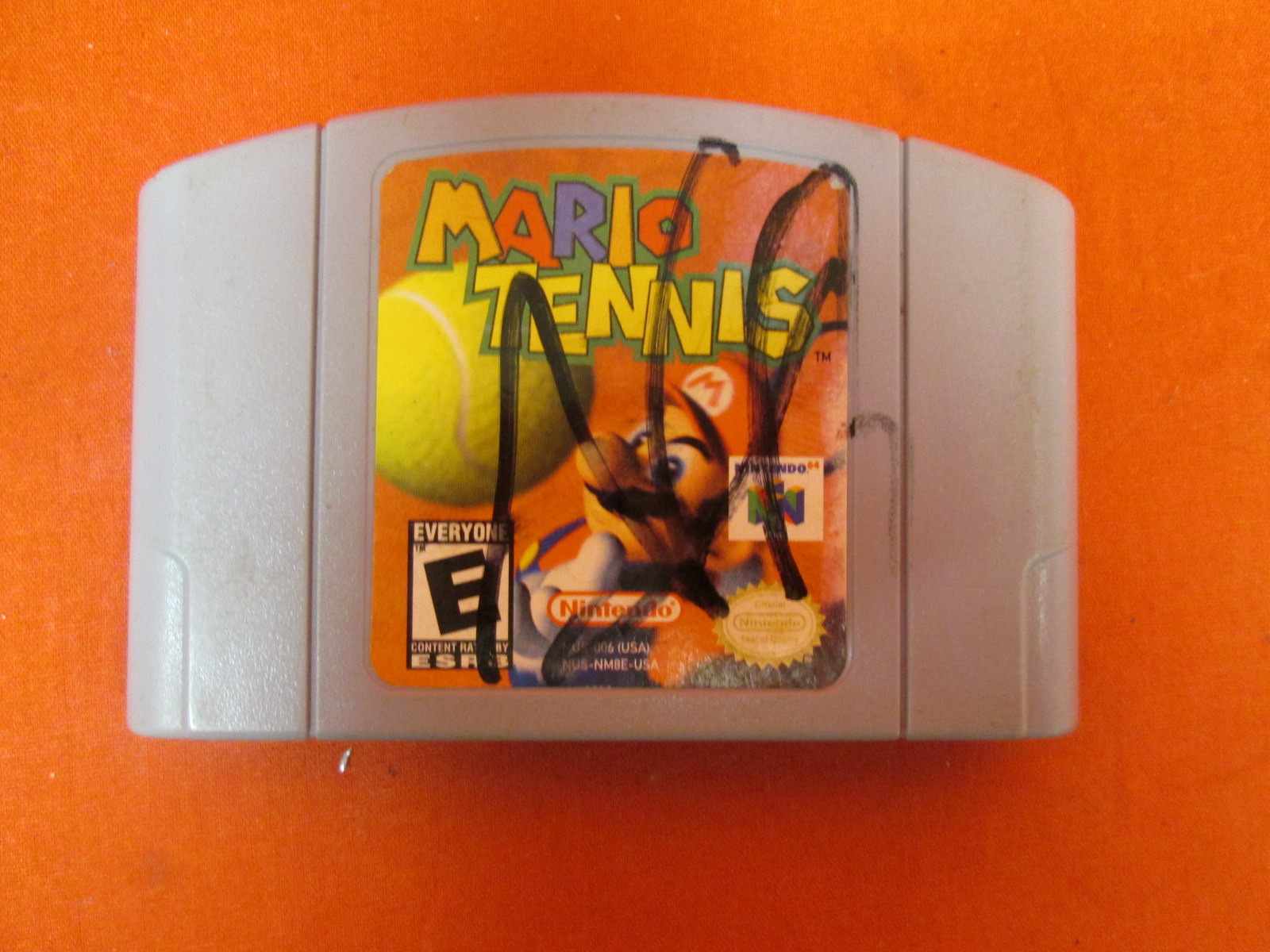 Image 0 of Mario Tennis For N64