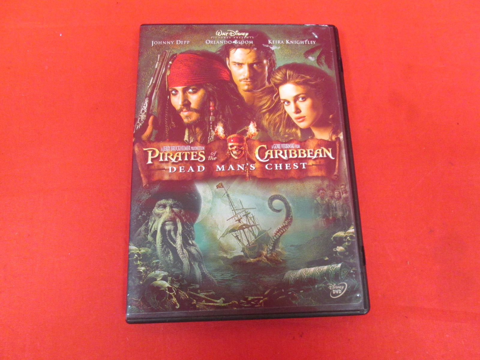 Pirates Of The Caribbean: Dead Man's Chest On DVD With Johnny Depp