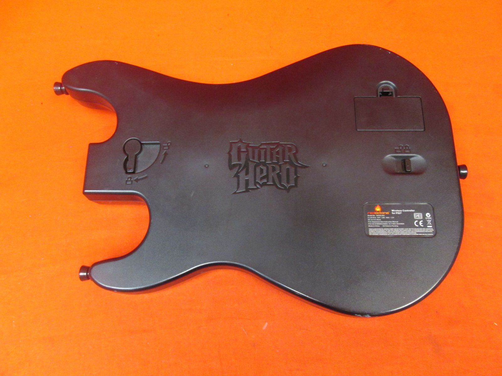 Image 1 of Replacement Sunburst Body Only For Guitar Hero Red Octane Wireless