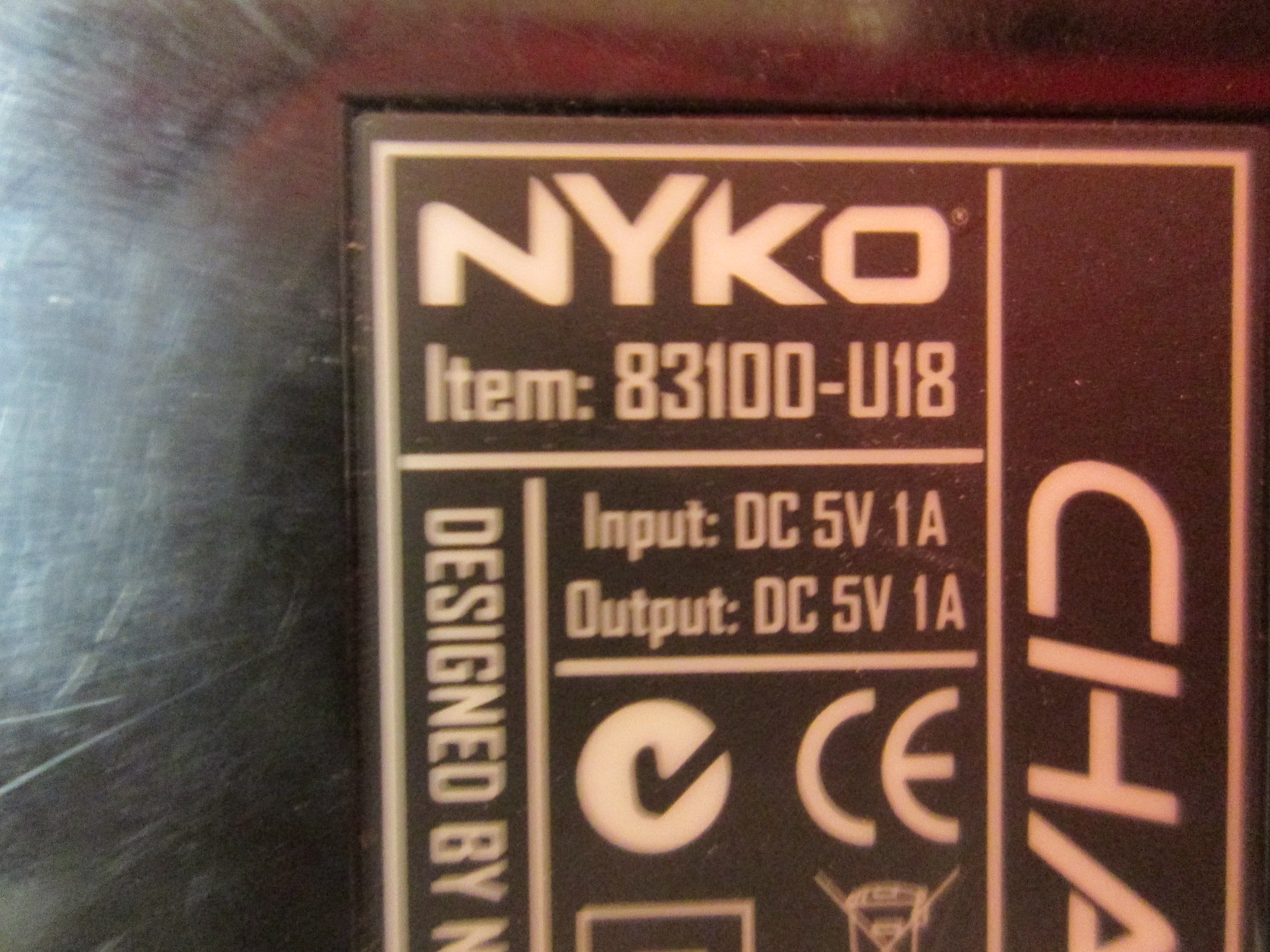 Image 1 of Nyko Charge Base 3 Incomplete For PlayStation 3