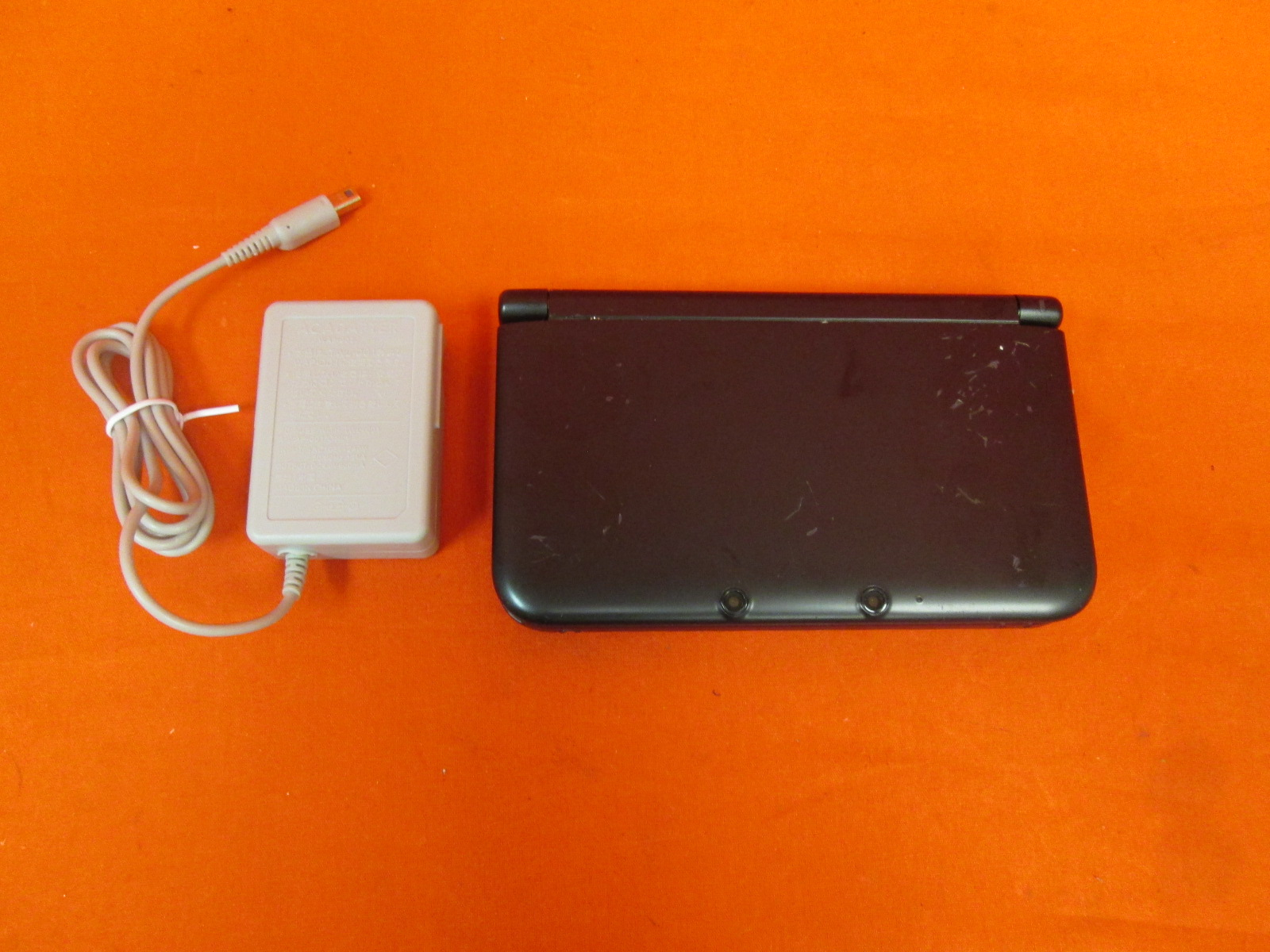 Image 1 of Nintendo 3DS XL Black Handheld Video Game Console