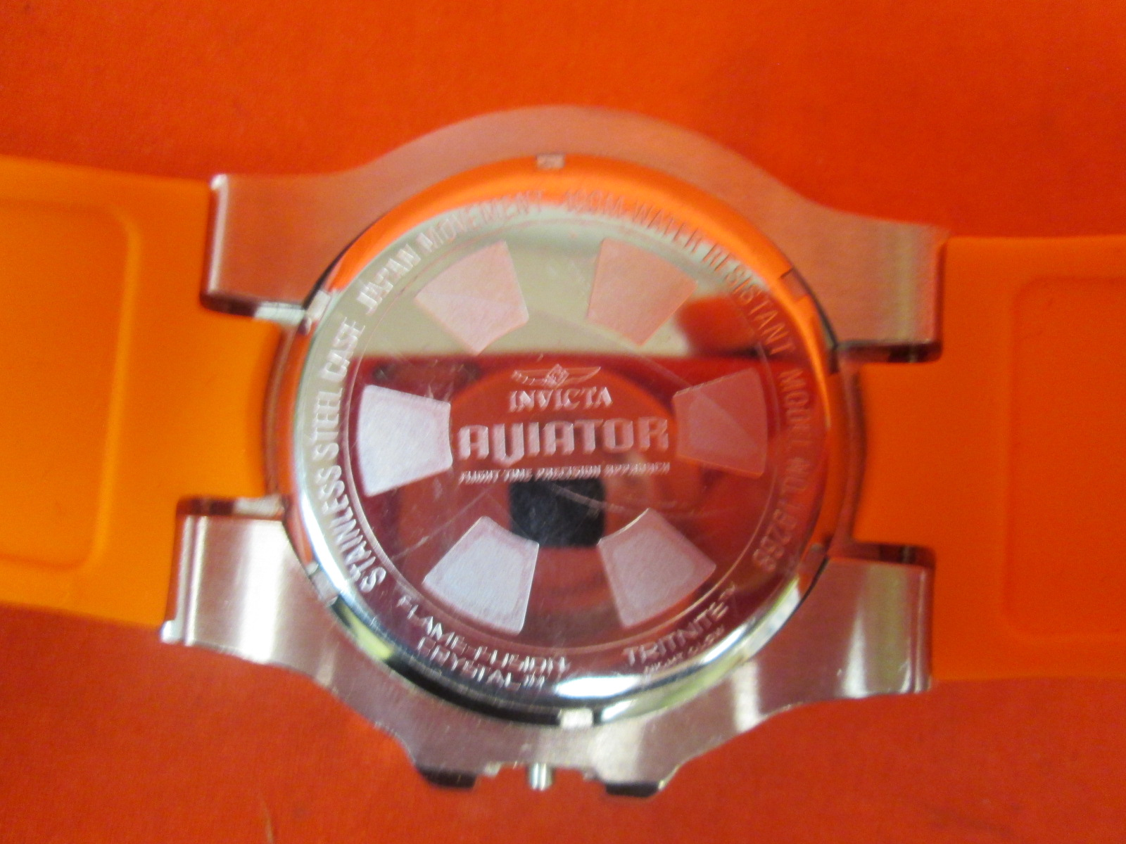 Image 1 of Broken Invicta Aviator 19268 Watch