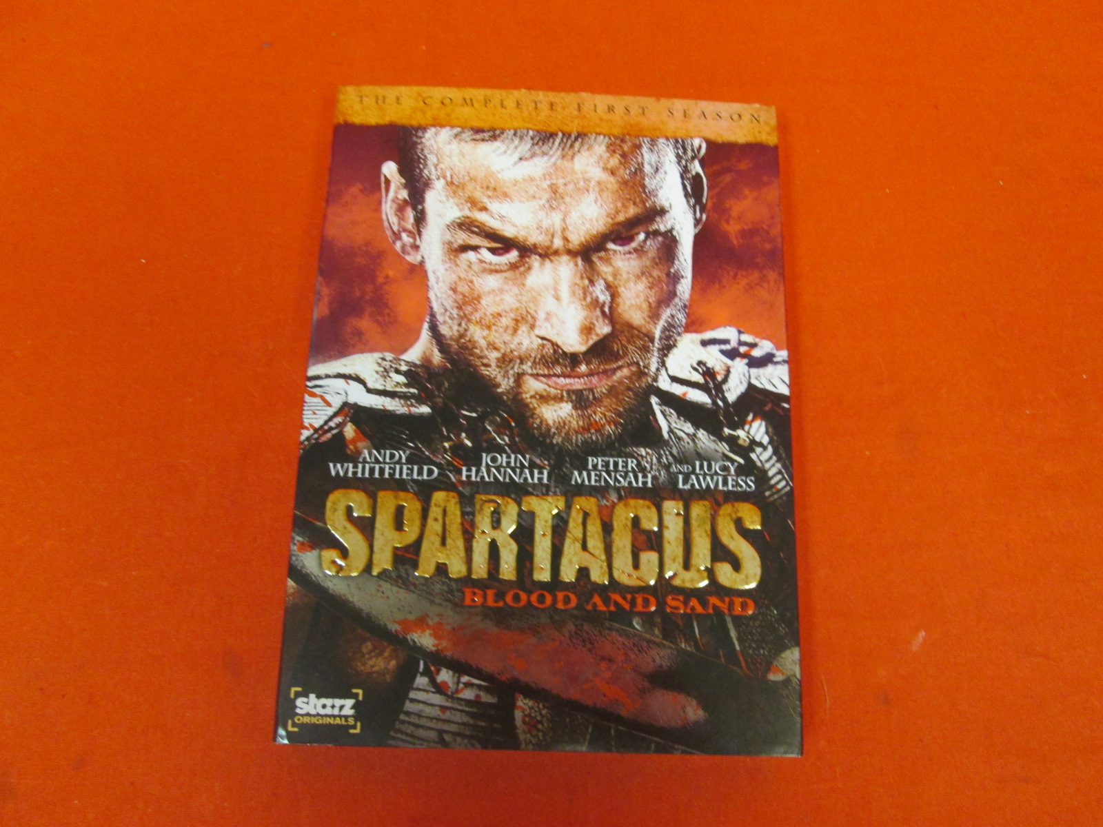 Spartacus: Blood And Sand: Season 1 On DVD Incomplete