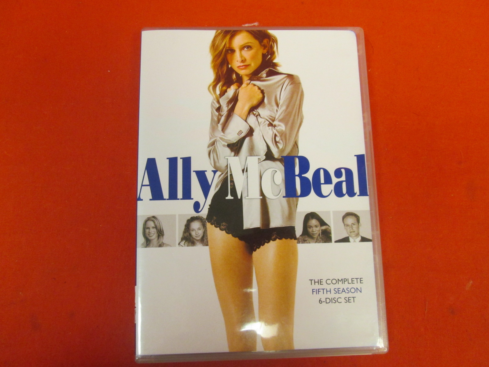 Ally Mcbeal: Season 5 On DVD With Calista Flockhart