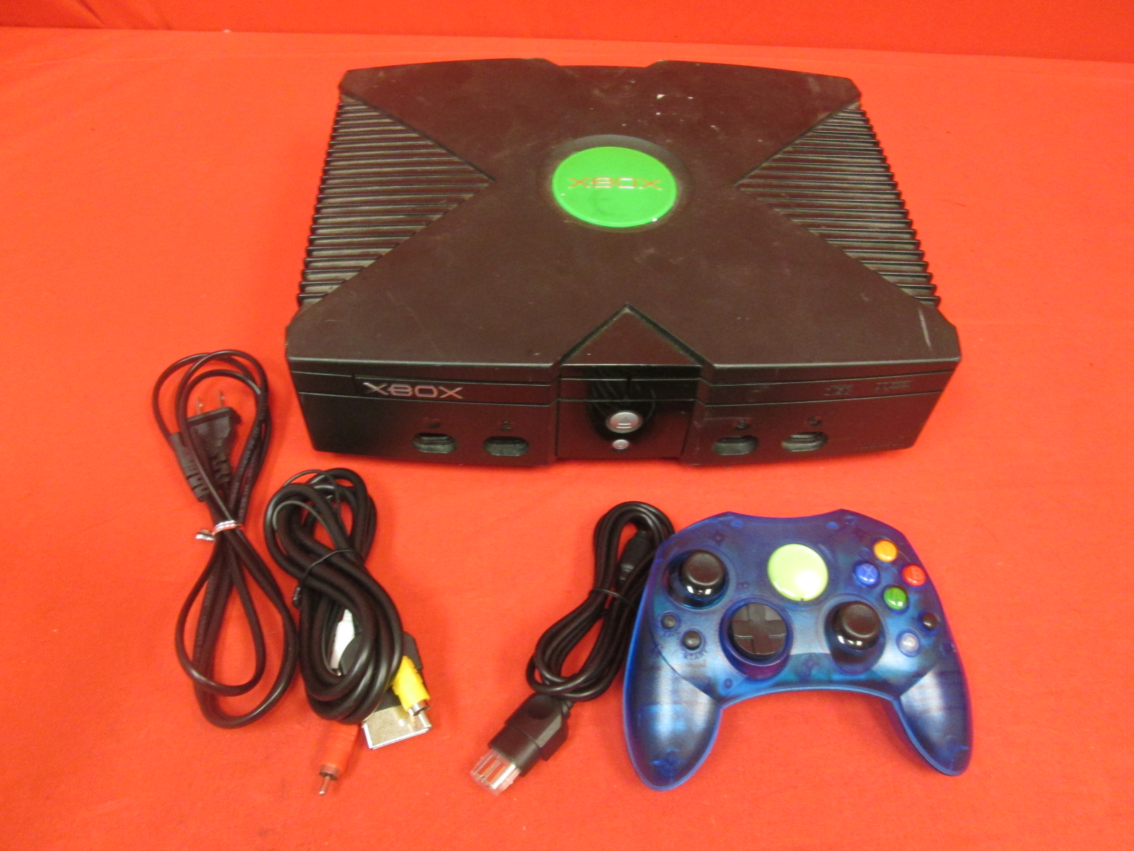 Xbox Original Video Game Console With Controller