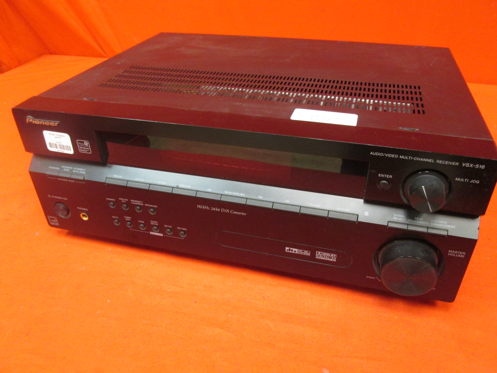 Pioneer VSX-516-K 7.1 Channel Home Theater Receiver