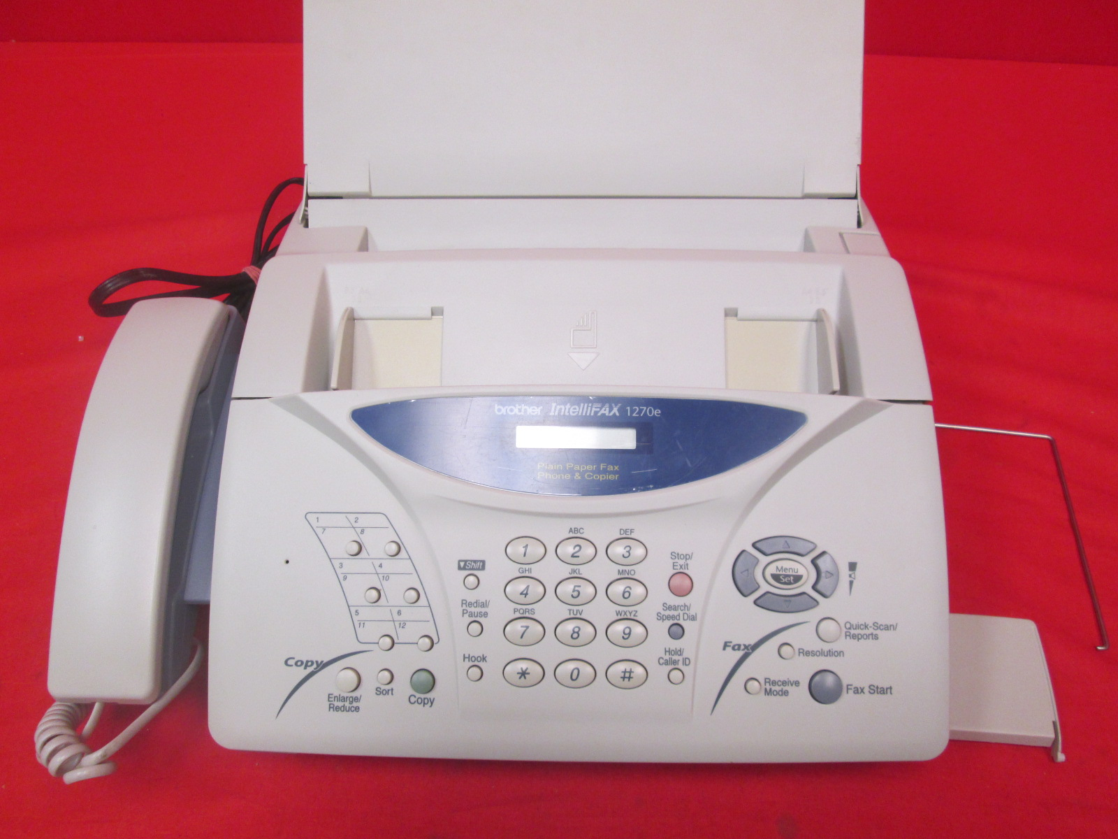 Brother Intellifax FAX-1270E Fax Machine And Copier