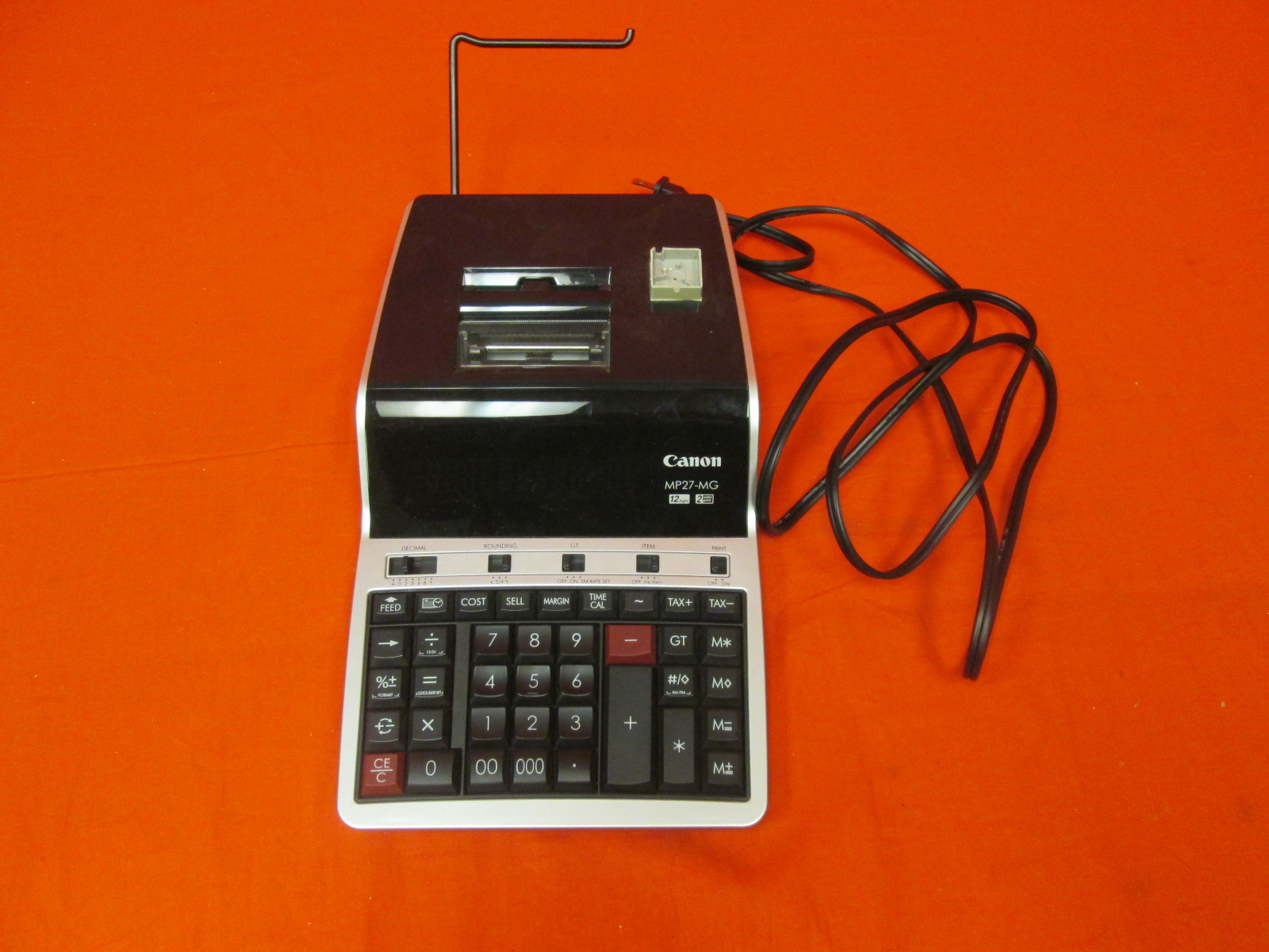 Broken Canon Office Products MP27-MG Business Calculator