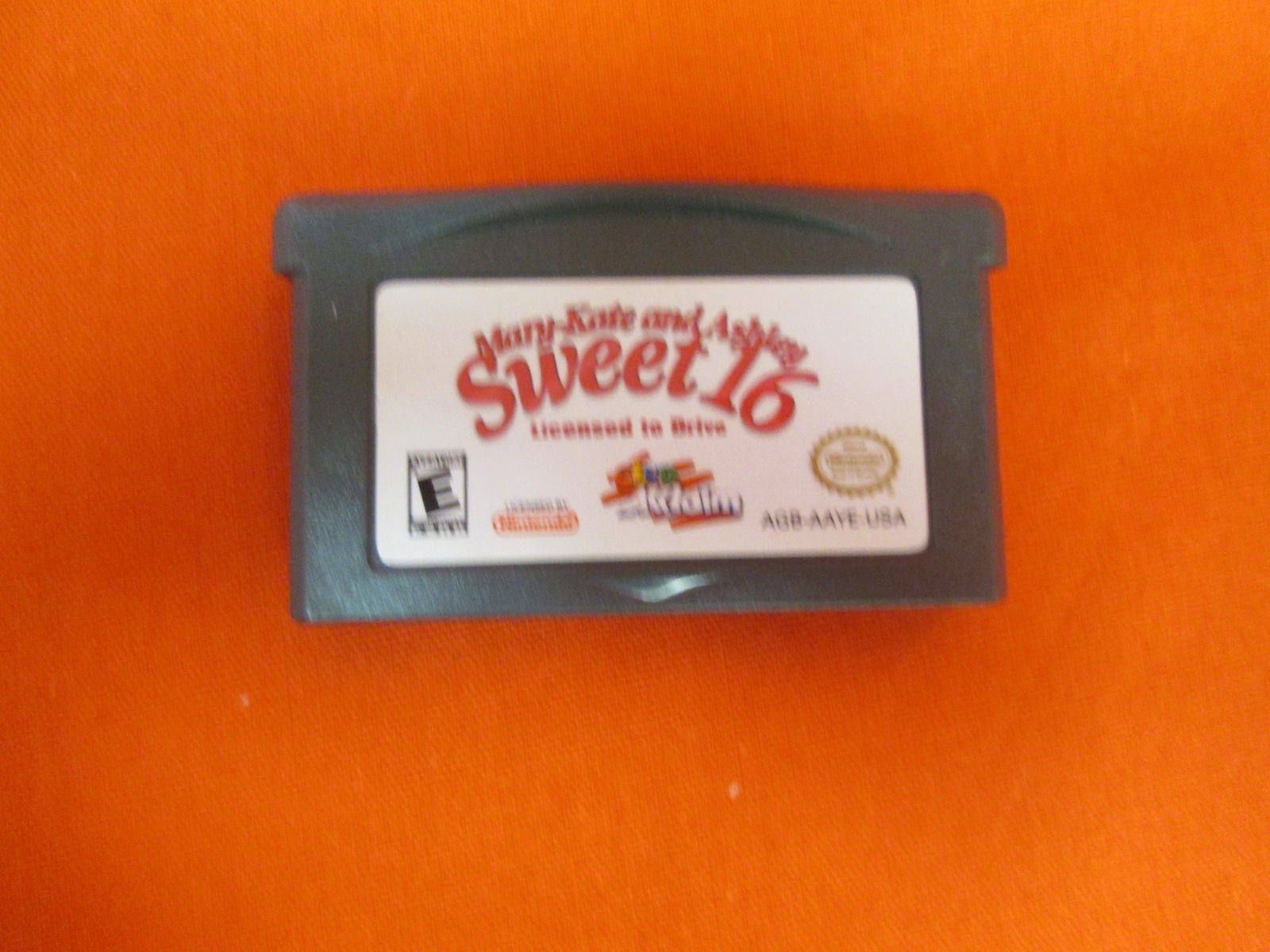 Mary-Kate & Ashley: Sweet 16 Licensed To Drive For GBA Gameboy Advance