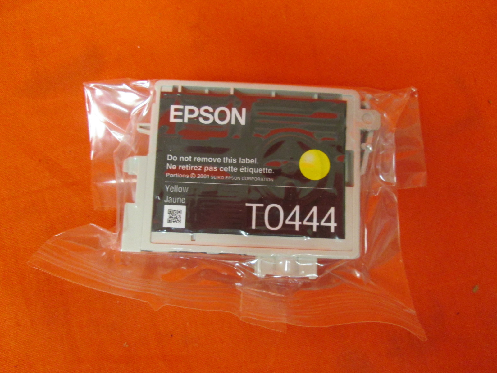 Epson T0444 Yellow Ink Cartridge Inkjet 400 Page