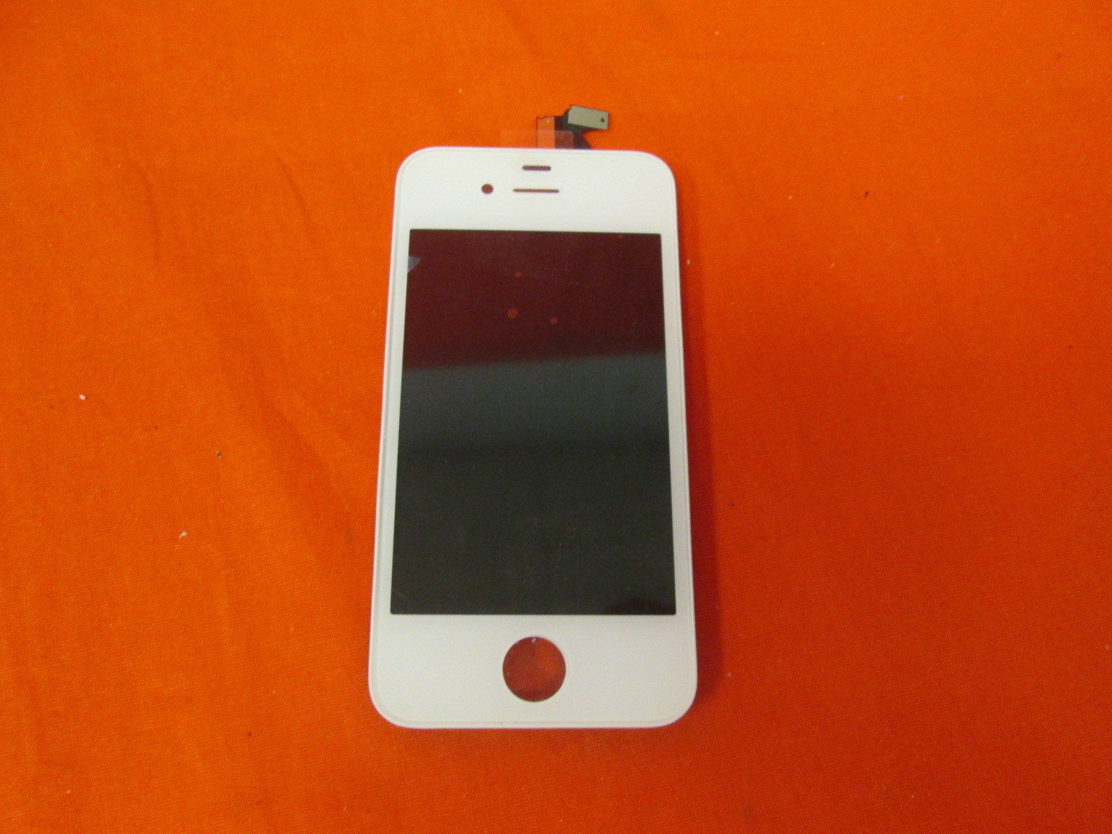 Replacement Touch Screen Digitizer And LCD Assembly White GSM CDMA For