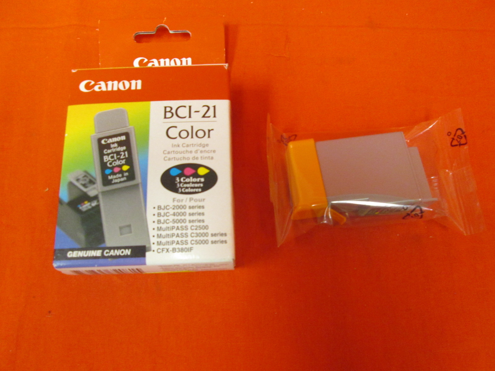 Canon Ink Cartridge BCI-21 Color Ink
