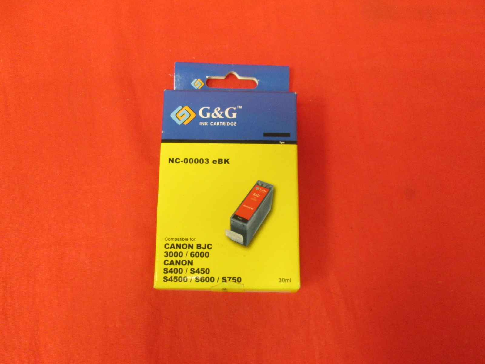 G&G Ink Cartridge NC-00003 Black Ink For Canon 3000 6000 S400 S450 S45
