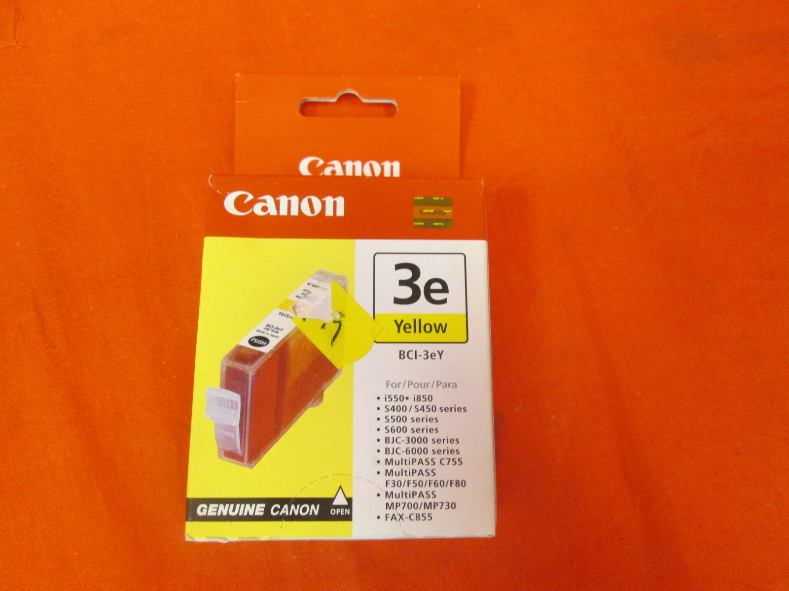 Canon BCI-3EY Yellow Compatible Cartridge Ink