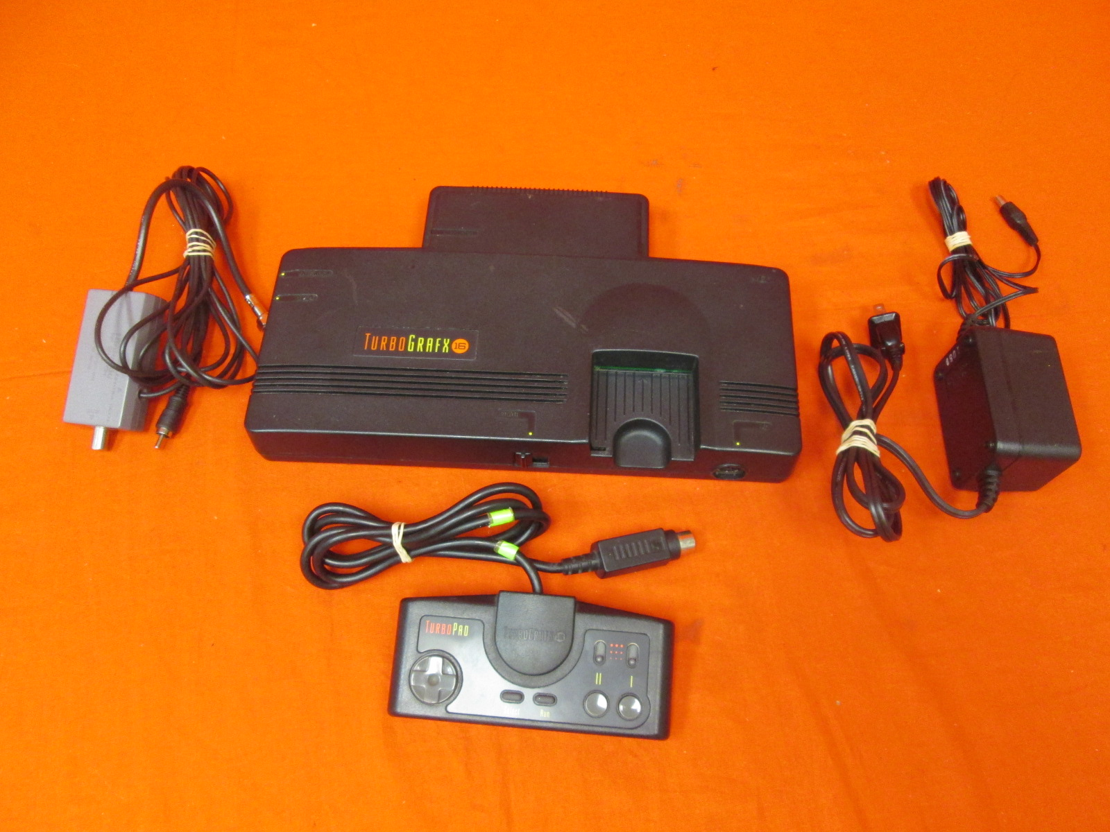 Turbo Grafx 16 System Video Game Console
