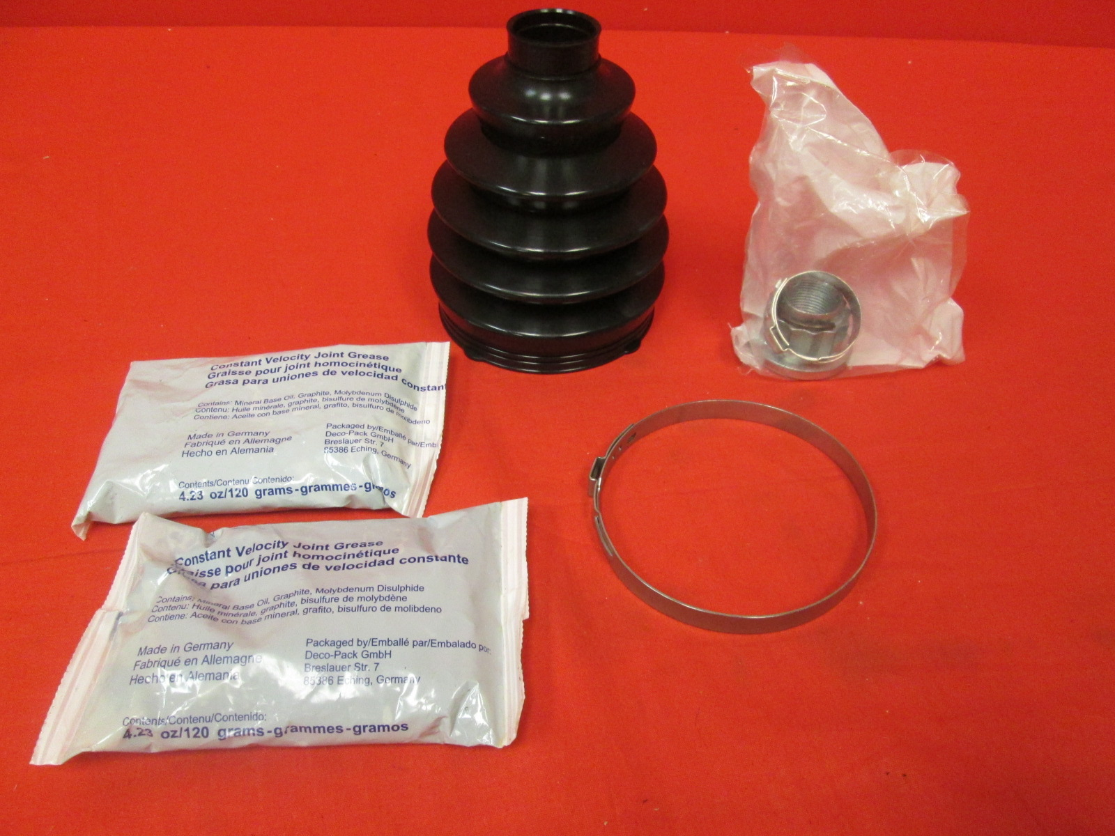 Rein Automotive BKN0061R Constant Velocity Joint Boot Kit
