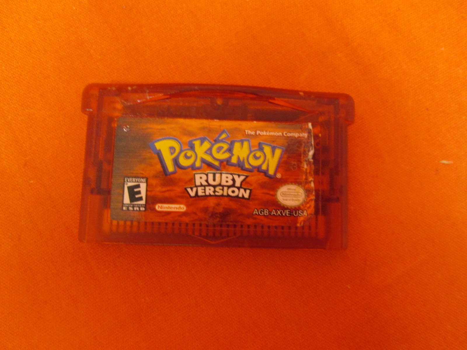 Pokmon Ruby Version For GBA Gameboy Advance